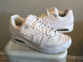 *PRICED TO SELL* Nike AirMax Whites, Size 11, $45