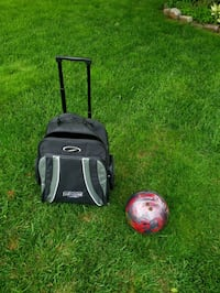 Rolling bowling ball bag + 8lb storm mix ball Woodbridge, 22193