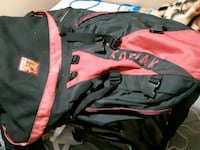 50L Red Black  Campers kodiak back pack! Vancouver, V5P 3R5