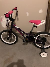 toddler's purple and white bicycle Ashburn, 20148