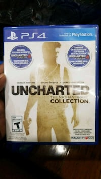 Uncharted The Nathan Drake Collection PS4 game case Toronto, M1B 4N4