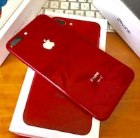 brand new red iphone 8 plus 256gb