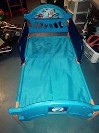 blue and red car bed frame Eastpointe, 48021