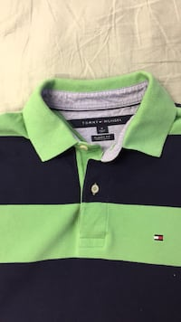 green and black striped Tommy Hilfiger polo shirt Salem, 24153