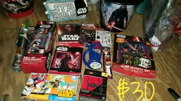 New star wars toy bundle