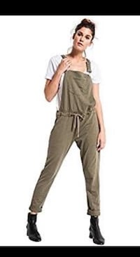 Z supply overalls ~ fatigue green ~ size large