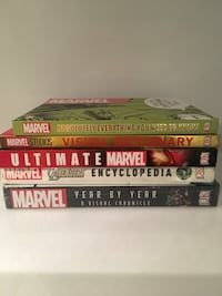 Marvel hardcover guides