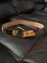 brown and red leather belt Nashville, 37115