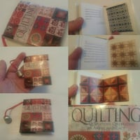 book of QUILT Pattern s miniature / thimble cute