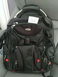 black and gray Swiss backpack Richmond Hill, L4C 4S8