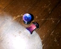 2g 6mm Acrylic Single flare galaxy plugs