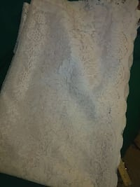 Lace curtain panel