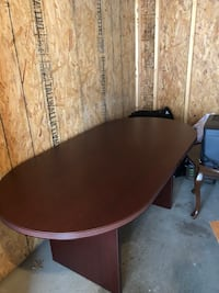 One Wooden Oval Conference Table New Albany, 43054