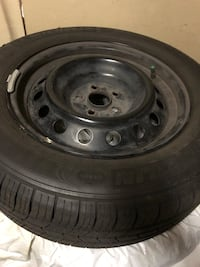 Set of all season tires with rims and sensors Cambridge, N3C 4J2
