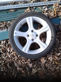 Nissan tire and rim new Harpers Ferry, 25425