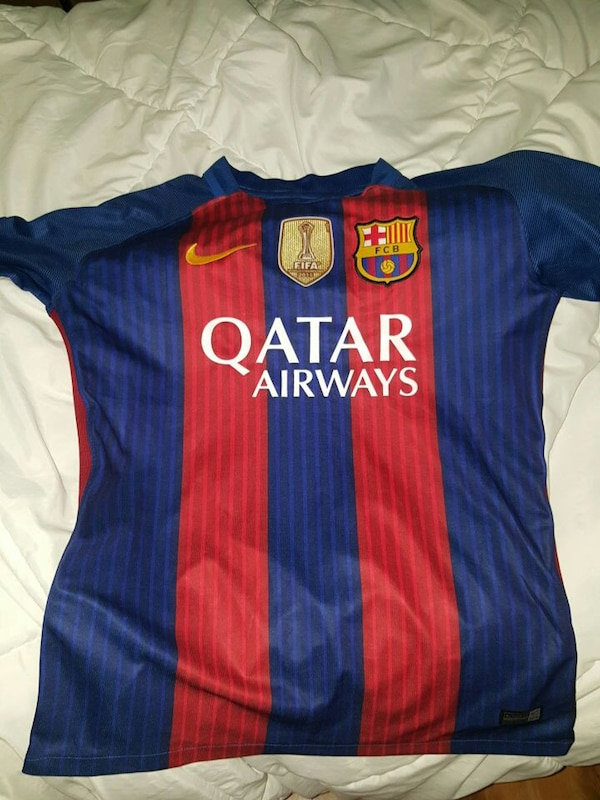 official photos eabb6 bc29c 2016-2017 FC barcelona jersey MESSI
