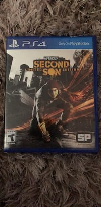 INFAMOUS SECOND SON: PS4 Owings Mills, 21117