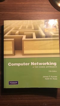 Computer Networking Pearson Orjinal kitap 5th edition