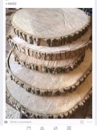 "10"" wood rounds  Reminderville, 44202"