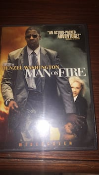 Man on fire with Denzel Washington  Toronto, M4X 1M3