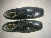 pair of black leather dress shoes Bryan, 77801