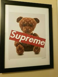 Supreme Wall art Limited edition of 300