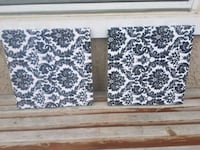 two brown-and-white floral area rugs Calgary, T2T 6H9