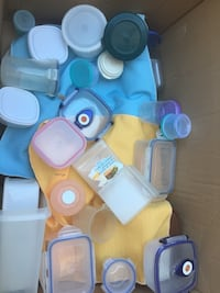 Tupperware and lock and load containers Vaughan, L4L