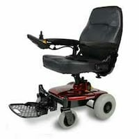 ** still in box** Black and red powered wheelchair Surrey, V3X 3L8