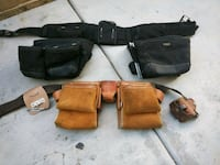 four black and brown leather bags Hesperia, 92345