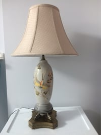 white and brown table lamp Toronto, M6H 3T6