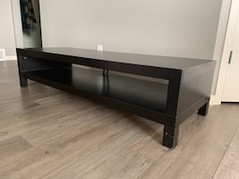 Coffee table - long, espresso brown