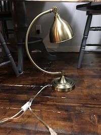 brass-colored base table lamp Calgary, T2G 0X3