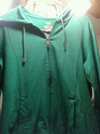 DANSKIN light jacket green color