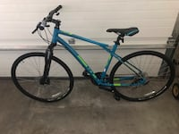 New 2018 hybrid bike  GT  WILL FIT SOMEONE 5.5 TO 5.8 Still has one year warranty on it for adjustments if needed Calgary, T3M 0Y1