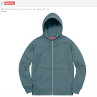 Supreme zip-up hoodie Hempstead, 11554