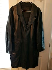 Black Leather Jacket XXL Fairfax, 22030
