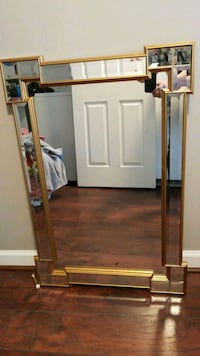 brown wooden cabinet with mirror Ashburn, 20147