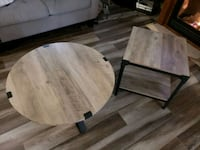 One coffee table and two end tables  New Tecumseth, L9R 1H2