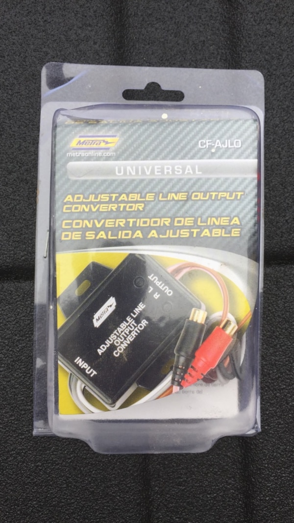 Universal cf-ajlo line output converter new