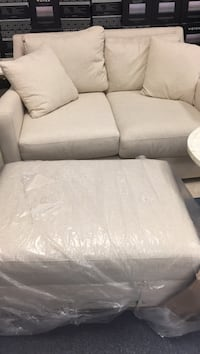 Loveseat and ottoman available at mattress in appliances 8415 Colerain Ave. please ask for Lilly