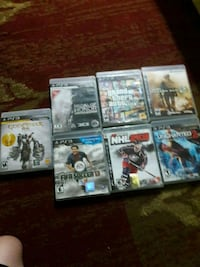 Lots of ps3 games Urbandale, 50322