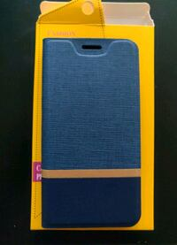 blue leather smartphone flip case Edmonton, T5K 1A8