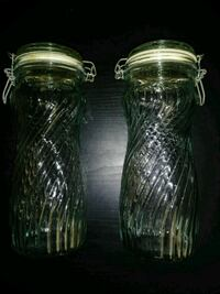 ** Vintage Glass Containers **