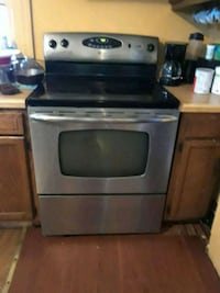gray and black induction range oven Rochester, 14617