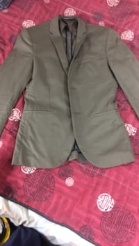 H&m slim fit blazer *olive green* Vaughan, L6A 3E7