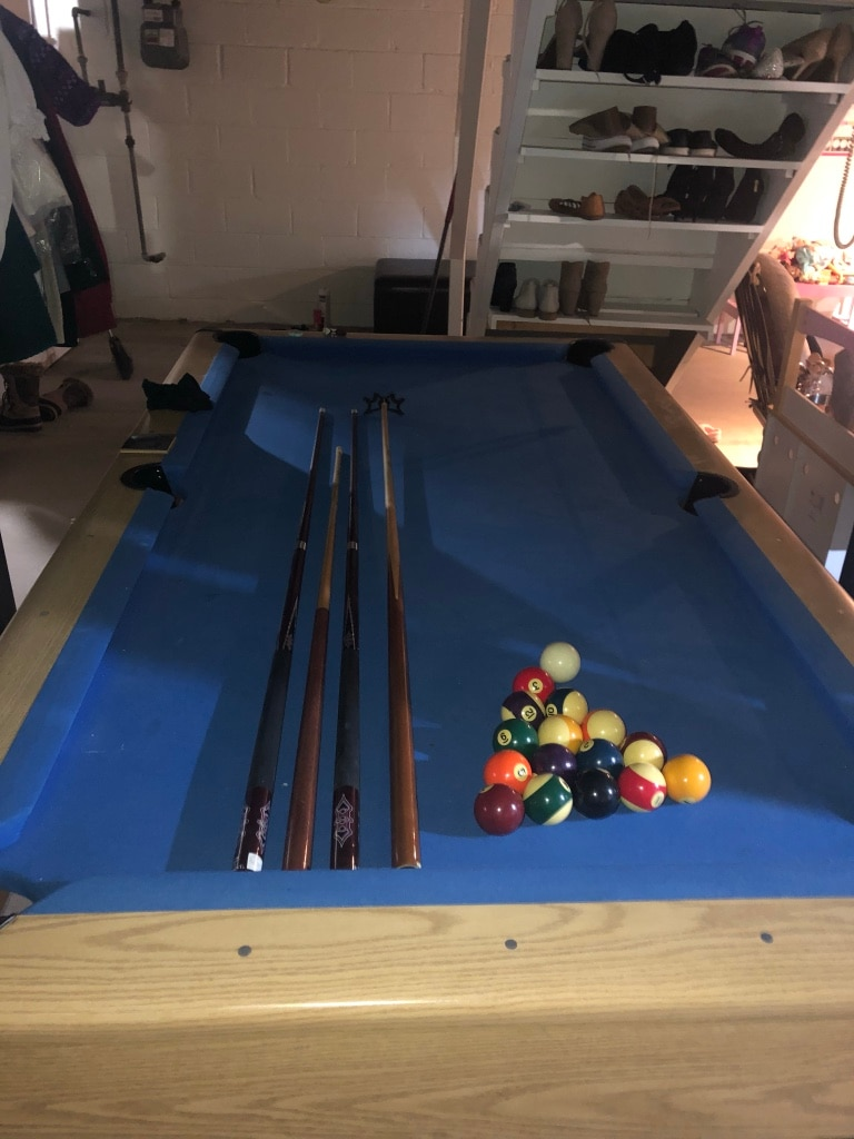 Superieur 7 Foot Slate Pool Table Ready To Play