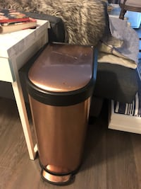 Copper / rose gold garbage can 40L Langley