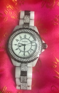 Real Chanel j12 ceramic diamond 20mm watch Hilo, 96720