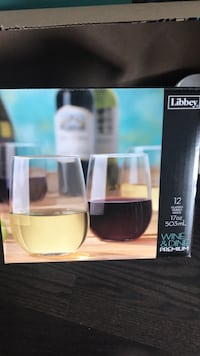 Libbey Stemless Wine Glasses - 8pcs Oakville, L6L 0Y8